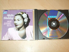 Billie Holiday - Lady's Day 1933 -1944 (Best Of)(CD) 25 Greatest Hits - Nr Mint