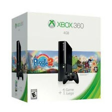 Xbox 360 4GB Game Console Black With Peggle 2 Game L9V-00051