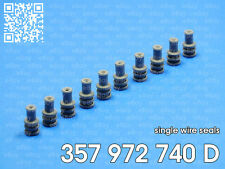 Audi VW Skoda Seat set of 10 single wire seals 357972740D