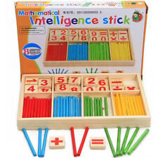 New Toddler Kids Preschool Educational Mathematical Intelligence Math Stick Toys