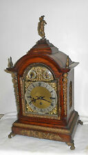 "ANTIQUE WINTERHALDER HOFMEIER W & H TRIPLE FUSEE ""MERCURY"" CHIME CLOCK BRACKET"