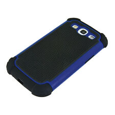 kwmobile TPU OUTDOOR HARD CASE FÜR SAMSUNG GALAXY S3 I9300 S3 NEO I9301 BLAU