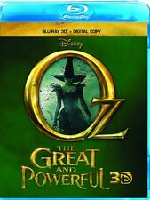 Disney Oz the Great and Powerful Blu-ray 3D & Digital Copy New