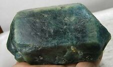 518g Brazil Natural Double Teminated Blue Apatite Crystal Specimen 1 lb 2 1/4 oz