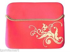 Red Rose 9.7 10 10.1 Inch Soft Case PC Netbook Notebook Sleeve Bag Case Cover