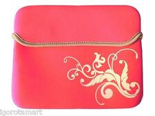Rose Red 9.7 10 10.1 pulgada Soft Case Pc Netbook Notebook Funda Bolso Estuche