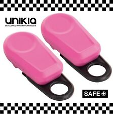 2 x Clip On Panic Attack Rape Personal Alarm Safety Security Key 140db Loud #032
