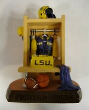 LSU University Tigers Ceramic Locker Figurine by Talegaters
