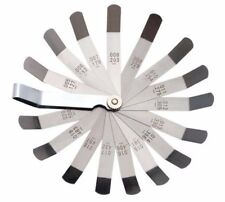 "16 Blades offset Feeler Gauge  METRIC & SAE 0.127mm(0.005"")-0.508mm(0.2"")"
