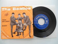 The Beatles - Twist And Shout / Misery, Italy', 7'' (Single), Vinyl: vg-