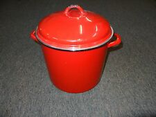16 QUART BRIGHT RED COOKING POT BY MEMBER'S MARK **GREAT COLOR**