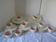 33 Piece Vintage Taylor Smith & Taylor Spring Glory China 6 Dinner Place Setting