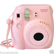 FujiFilm Instax Mini 8 Instant Film Camera (Pink), Built-In Flash, 1Yr Warranty
