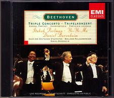 BARENBOIM: BEETHOVEN Triple Concerto YO-YO MA ITZHAK PERLMAN CD Choral Fantasy