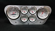 1953 1954 1955 FORD TRUCK 6 GAUGE DASH CLUSTER WHITE