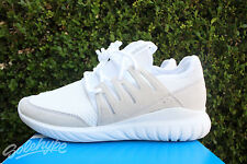ADIDAS ORIGINALS TUBULAR RADIAL SZ 8.5 RUNNING WHITE MULTI SOLID GREY S76720