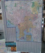 Tampa St Petersburg FL Laminated Wall Map (K)