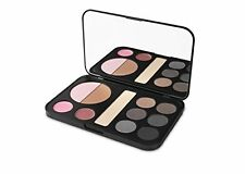 bhcosmetics Forever Smokey Makeup Palette - Eyeshadow, Blush, Highlighter, Lip