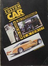 Custom Car magazine August 08/1986