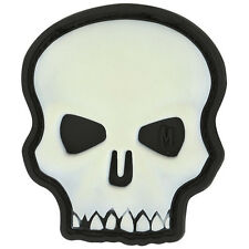 PVC Morale Patch - MAXPEDITION - Hi Relief SKULL - Custom - GLOW scheme