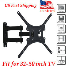 "LED LCD TV Tilt Swivel Wall Mount Bracket for 32 34 37 38 40 42 46 48 50"" inch"