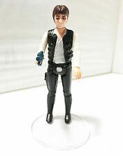 1977 HAN SOLO (LARGE HEAD) • C8-9 • 100% COMPLETE • VINTAGE KENNER STAR WARS