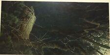 """Robert Bateman """"Night fall Eagle Owl""""  S/N L/E MINT"""