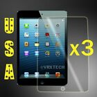3x HD Clear Screen Protector For Apple iPad Mini 1 2 3 Cover Guard Shield Film