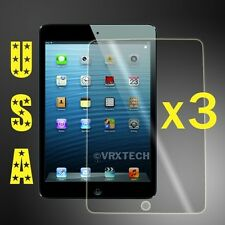 x3 HD Clear LCD Screen Protector For Apple iPad Mini 4 Cover Guard Shield & Film