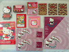 Rare Hello Kitty Stationary Notebook Letter Card Set 12-Piece Lot, 1996, NEW