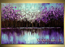 Hand-painted Modern Wall Decor Art Abstract Oil Painting On Canvas (No Frame)