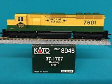 37-1707 Kato HO Scale SD45 Engine Reading NIB