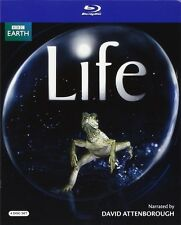 LIFE - DAVID ATTENBOROUGH BBC 4 DISC BLU RAY 585 MINS REGION FREE NEW!