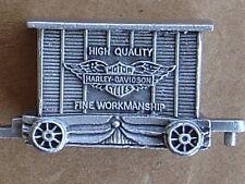 MAKE OFFER......... HARLEY DAVIDSON TRAIN BOXCAR QUALITY BILLBOARD OBSOLETE NIB