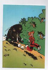 Carte Postale Trésors du Journal de Spirou n°9. Couverture album Spirou 25