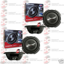"2 x PIONEER TS-SW3002S4 12"" SINGLE 4 OHM CAR SHALLOW MOUNT SUBWOOFER 400W RMS"