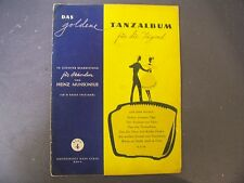Das Goldene Tanzalbum fur die Jugend German Accordion Song Book Sheetmusic