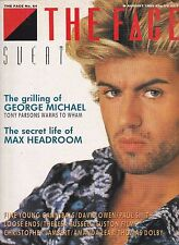 THE FACE Magazine No 64, August 1985, George Micheal cover