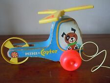 Vintage 1970 Fisher Price Mini Copter # 448