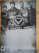 THE GHOST INSIDE 2015 TOUR  -  orig.Concert-Konzert-Poster-Plakat NEU