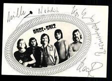 Brot und Salz Autogrammkarte Original Signiert ## BC 43681