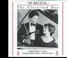 The Cleveland Duo / In Recital - CD MINT
