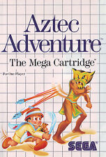 ## SEGA Master System - Aztec Adventure - TOP / MS Spiel ##