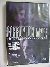 CORRUPTION EMPIRE NELLA MORSA DEL POTERE - DVD SIGILLATO PAL - JULIA ROBERTS