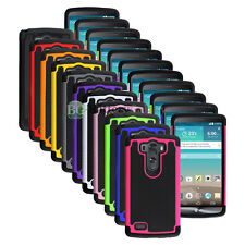 Lot of 11 Hybrid Rugged Rubber Matte Hard Case Cover for Android Phone LG G3