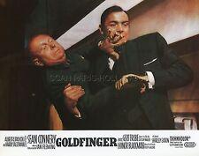 JAMES BOND 007  SEAN CONNERY GERT FRÖBE GOLDFINGER 1964 LOBBY CARD #6  R70
