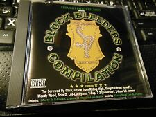 Blockbleeders [Slow] by Screwed Up Click (CD 1999, Straight Profit) Yungstar TX