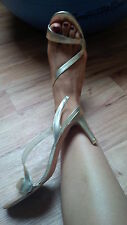 LK Bennet Light Gold Slingback Heels UK5  EU38 - Summer 2014 was £140