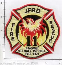 Florida - Jacksonville Station 11 FL Fire Dept Patch Fire Rescue 1st Battalion