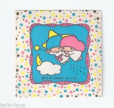 LITTLE TWIN STARS 1976 Sanrio Japan Vintage tiny sticker - adesiva, autocollant